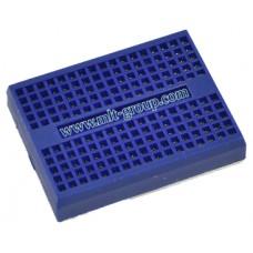 บอร์ดทดลอง Mini Breadboard 170 points สีน้ำเงิน