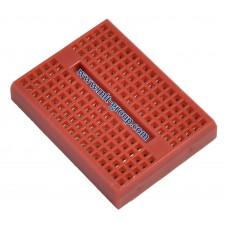 บอร์ดทดลอง Mini Breadboard 170 points สีแดง
