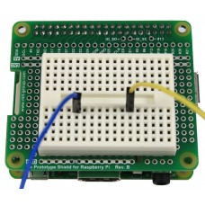 Tie Prototype Shield Rev.B & Breadboard for Raspberry Pi B+ / A+ / Pi 2 (ขาสั้น)