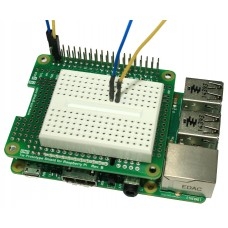 Tie Prototype Shield Rev.B & Breadboard for Raspberry Pi B+ / A+ / Pi 2 (ขายาว)