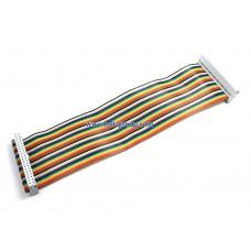 สาย GPIO Ribbon Cable for Raspberry Pi B+ / A+ / Pi 2 (40pin) - สายสีรุ้ง