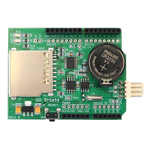 SD Card Shield Plus for Arduino (Read/Write Data)