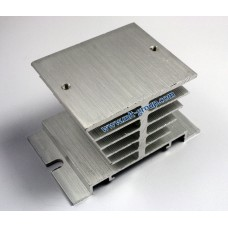 Aluminum Heat Sink for Solid State Relay SSR (Silver)