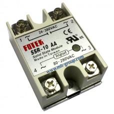 โซลิดสเตตรีเลย์ 10A Solid State Relay SSR-10 AA (AC to AC)