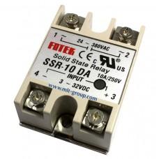 โซลิดสเตตรีเลย์ 10A Solid State Relay SSR-10 DA (DC to AC)