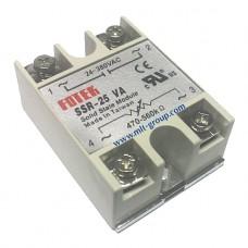 โซลิดสเตตรีเลย์ 25A Solid State Relay SSR-25 VA (Resistance to AC)
