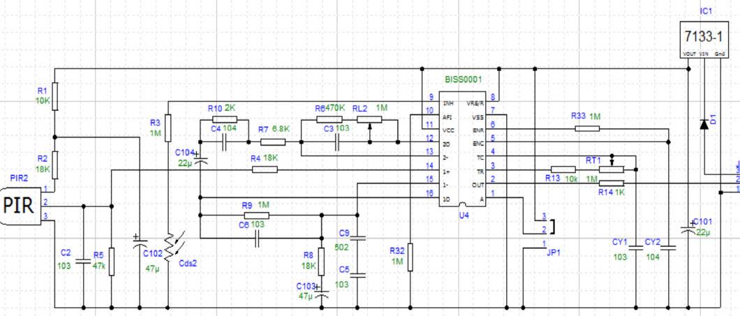 Lichtschranke Bausatz Conrad  ponents 191710 12 VDC 15 VDC 5 M additionally  moreover Project Crystal Part 1 furthermore Miniature Beeping Circuit Prank moreover Pir Sensor Library Proteus. on pir sensor circuit