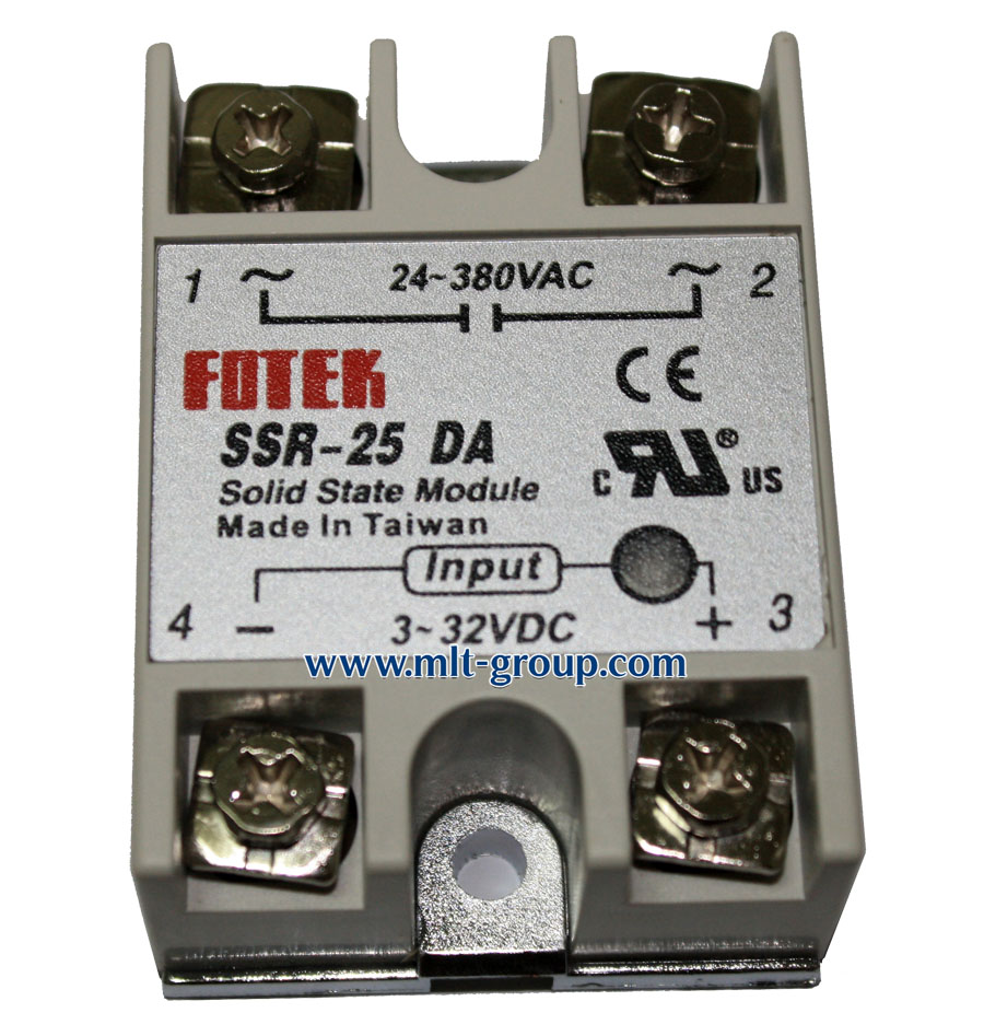 Solid State Relay 25a Ssr 25 Da Dc To Ac Driver