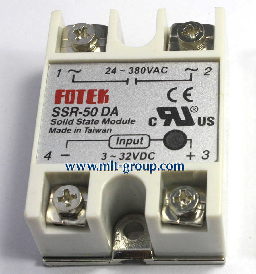 Solid State Relay 50a Ssr 50 Da Dc To Ac For